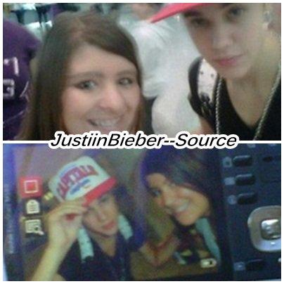 Justin au cinéma a Los Angles .
