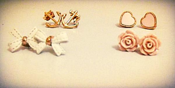 Mes boucles d'oreilles #1 ♥