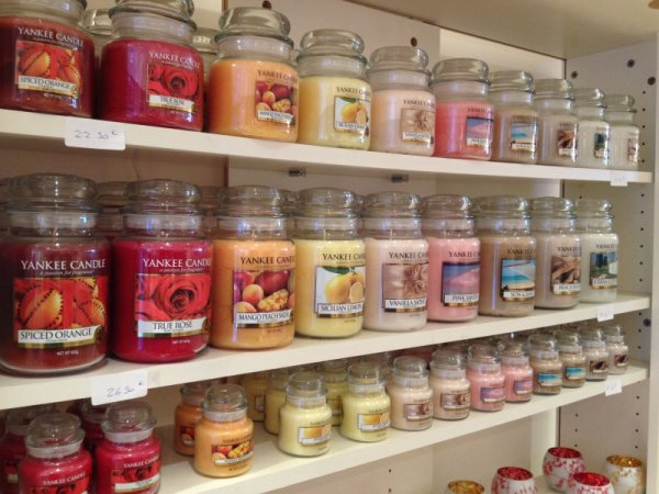 Yankee Candle #1 : bougies parfumées...!!!