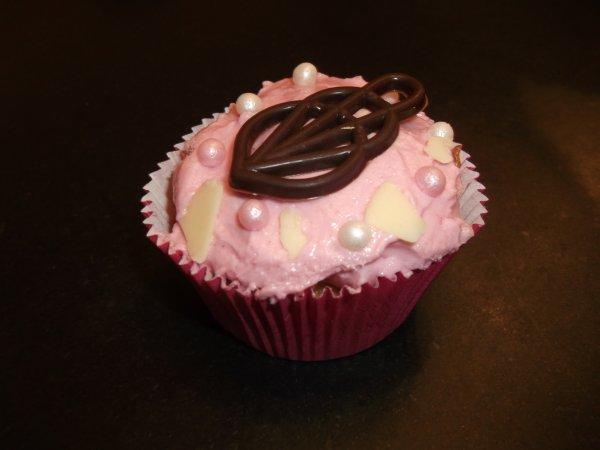 Petit cupcake fait maison par ma sister ♥ !!!