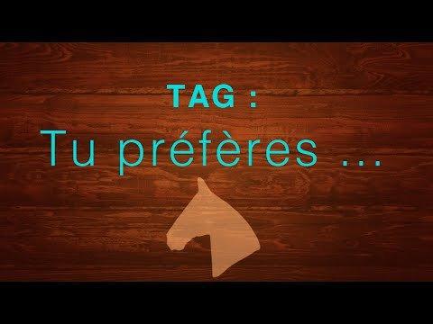 TAG #2 Tu préfères ?