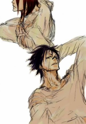 ☼ Renji (ou Byakuya ?) x Hisagi ☼