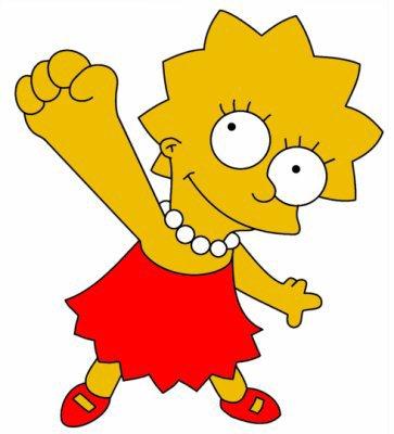 Lisa simpson le monde des simpson - Les simpson tout nu ...
