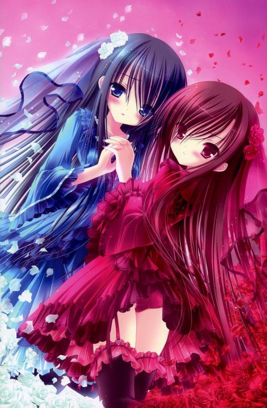Bleu ou rose