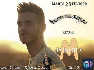 M Pokora au Goom Night Show !