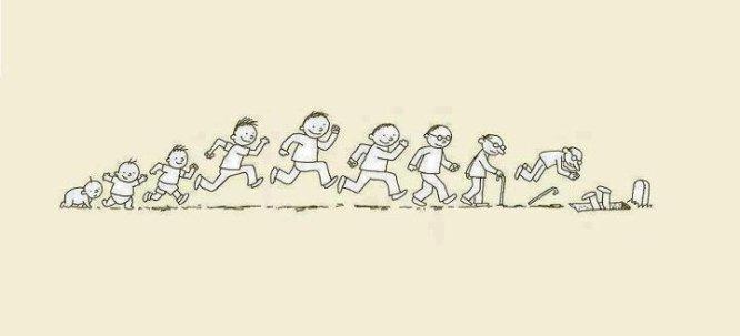 La vie est un enchaînement perpétuelle de merde qui nous tombe sur la gueule, on arrête pas de tomber pour se relever, pour au final finir entrain de pourrir entre 4 planches de bois ou bien en sable dans un vase sur la cheminée de nos enfants ou petits enfants.