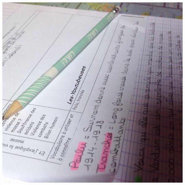 School - Être organiser toutes l'année ! (Histoire Geographie)