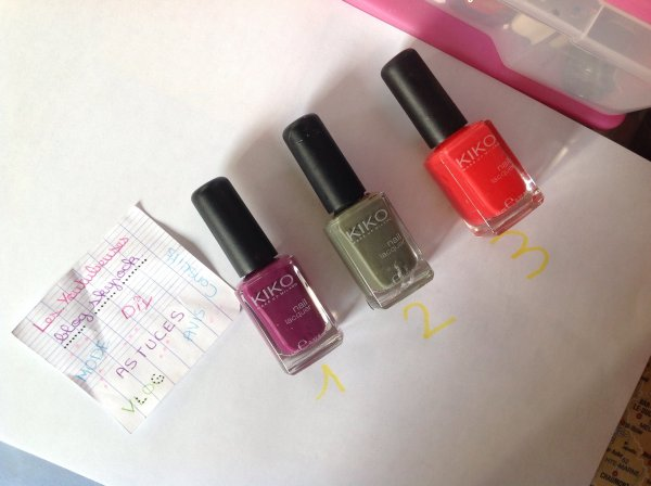 Avis - Vernis KIKO ! + Favorit du moment !