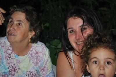 Anniversaire de Vanessa et Grand-mère