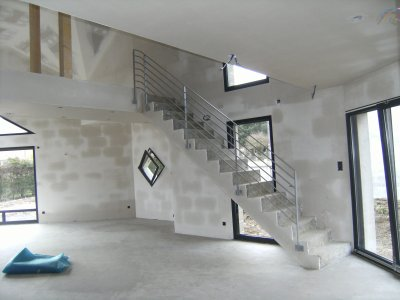 Awesome Rampe Moderne D Escalier Images - Amazing House Design ...