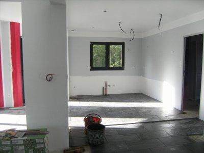 peinture cuisine - construction maison moderne