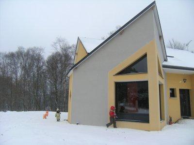 Façade Construction Maison Moderne