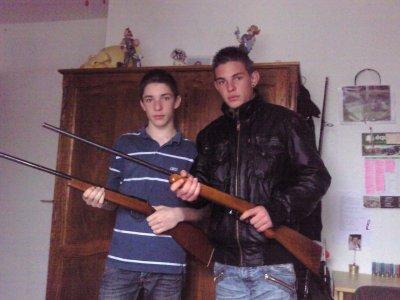 encore nous avec les carabines xd