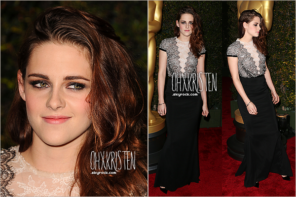 December 01 2012  - Kris c'est rendus au Governors Awards 2012 à Hollywood. Que penses tu de sa tenue ?
