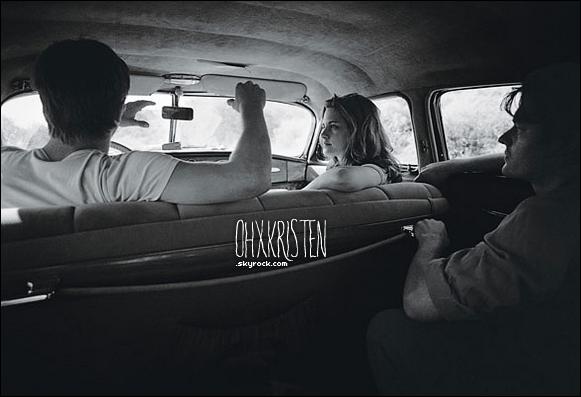 December 21 2012  - Les sorties de Kris ce font rare en ce moment, alors voilà de nouveaux stills d'On the Road. Splendide, tu en penses quoi?