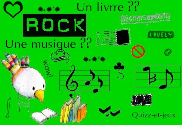 Un livre ? Une Musique ?