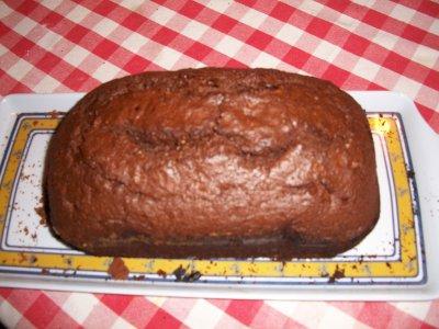 pour l'apres pâques cake au chocolat