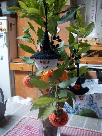 arbre de hallowen