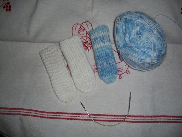 chaussettes tubes