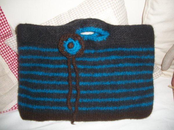 sac en laine feutré