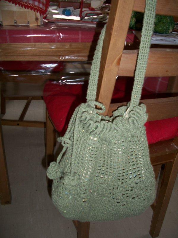 sac au  crochet