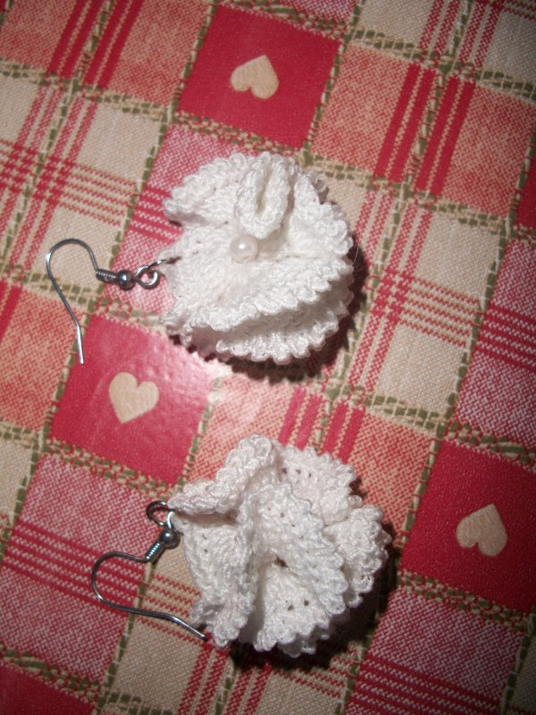 boucles d'oreilles au crochet