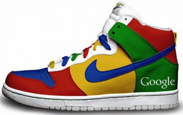 Chaussure Google Nike!!