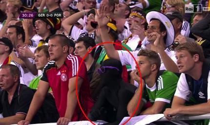 Pendant ce temps à L'euro 2012