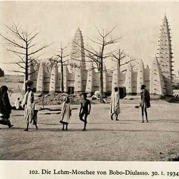MOSQUEE DE DIOULASSOBA EN 1934