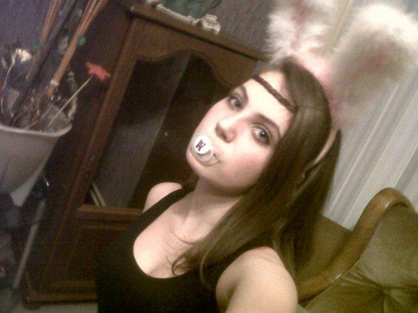 <3 I'm a small rabbit <3