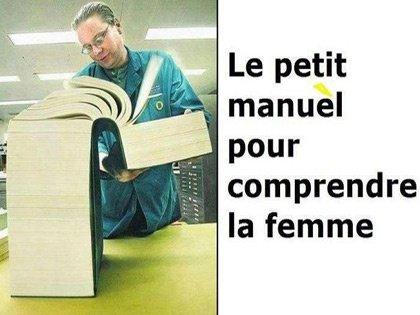 Le petit manuel pour comprendre la femme ! ?