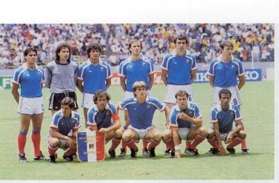 France rfa 1986 demi finale de la coupe du monde - Finale coupe du monde 1986 ...