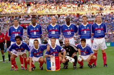 France br sil finale de le coupe du monde 1998 quipe - Coupe faim efficace interdit en france ...