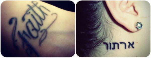 My tattoos!