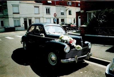 mon ancienne voiture  Peugeot 203 de 1955
