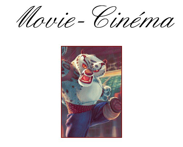 # 13ème article : Movie-Cinéma #  Movie cinéma