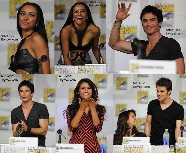 Le 20 juillet, à l'occasion du Comic Con, nos acteurs se sont rendus au Panel.