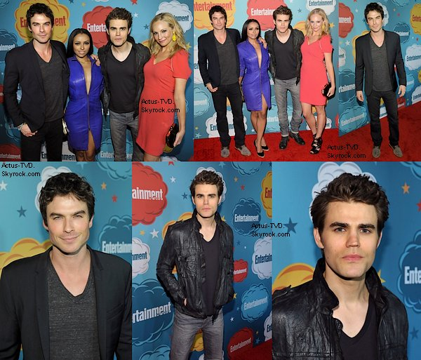 Le 20 juillet, toujours à l'occasion du Comic Con, le cast s'est rendu à la soirée Entertainment Weekly.