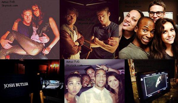 Voici la suite des photos du shoot promotionnel de la saison 5... Étaient présents: Nina Dobrev, Ian Somerhalder, Paul Wesley, Steven McQueen, Michael Trevino, Candice Accola et Kat Graham.
