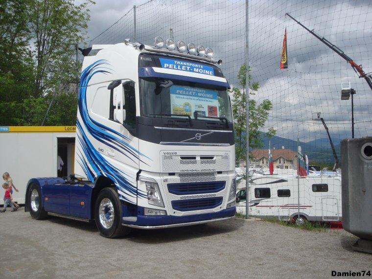 -- Nouveau Volvo Fh des transports François Pellet-Moine --