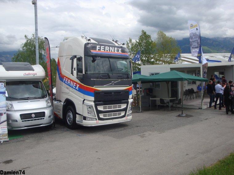 --Nouveau Volvo Fh des transports Fernex--