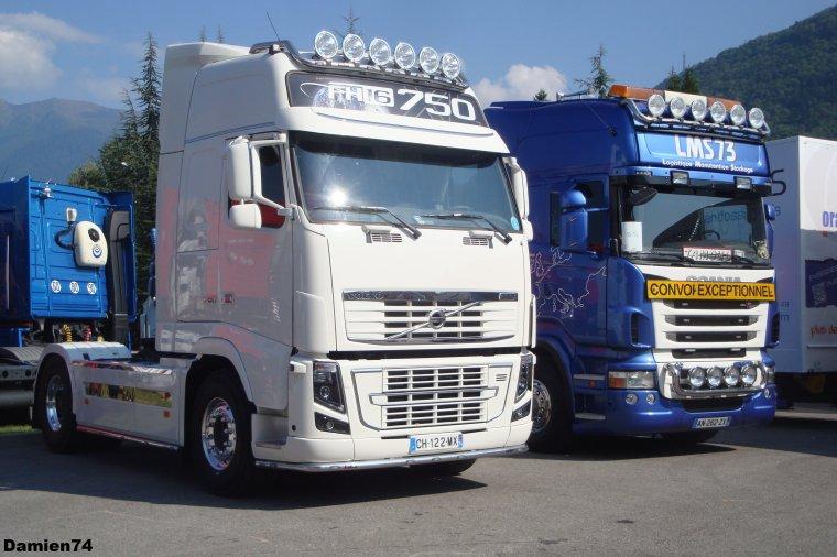 Volvo et Scania