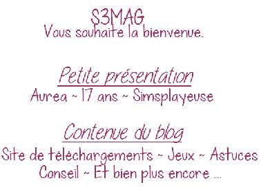 Bienvenue Sur S3MAG