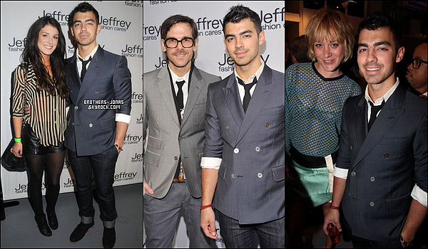 JOE S'EST RENDU A LA JEFFREY FASHION CARES 2012. | 26/03/2012.