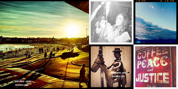 02/04/2012 : Joe Jonas a été vu quittant son Hotel à Sydney et parlant a une femme. Joli?