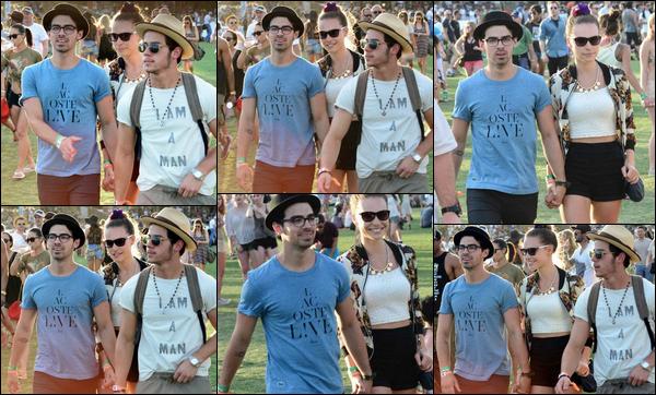 13/04/2013 : Nick, Joe et de sa petite amie étaient au festival de Coachella à Indio, Pas mal les photos.