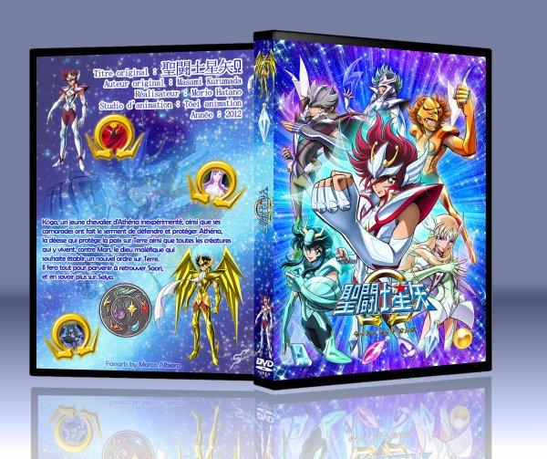 Jaquette DVD Saint Seiya OMEGA