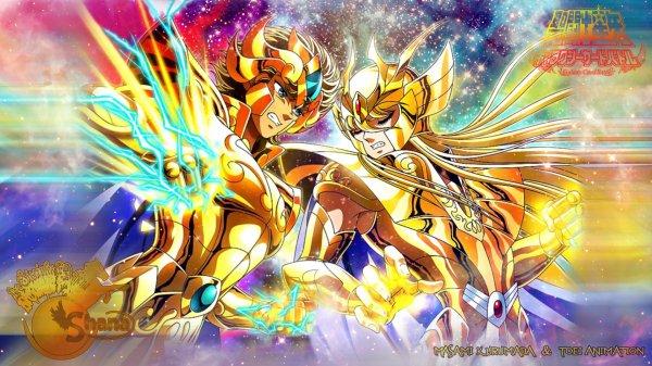 Aiolia VS Shaka