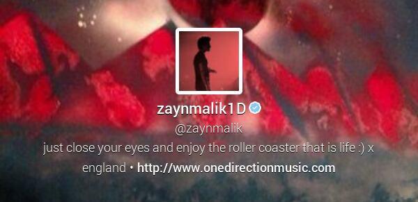 #Info : Zayn a encore changé sa photo profil et bannière twitter ! (C'est une fan qui lui a DM cette photo de profil)