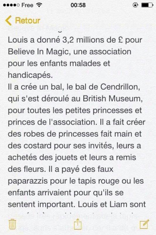 Petit récapitulatif du Cinderella Ball par @1DDailyReport :